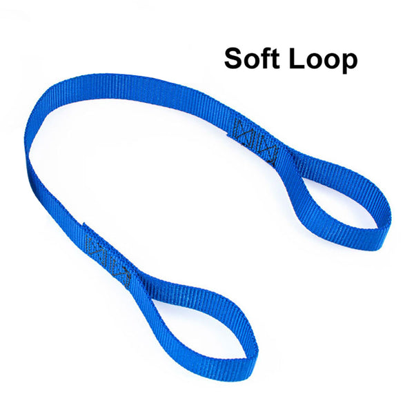 Soft loop extension strap