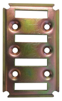 E Track Mounting Plate - 4 Position