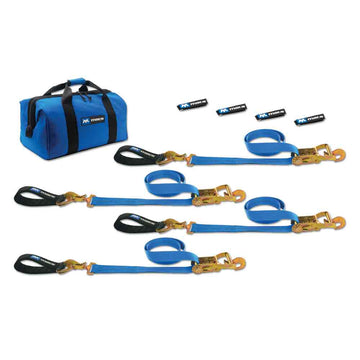 Ultra Pack Tie Down Strap Kit with Detachable Axle Straps