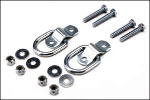 1 Inch D-Ring Set w/ Hardware M-09