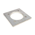 Backing Plate for 5,000 lb Billet Aluminum D Ring