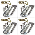 Double Stud Anchor Plate Assembly - 4 Pack