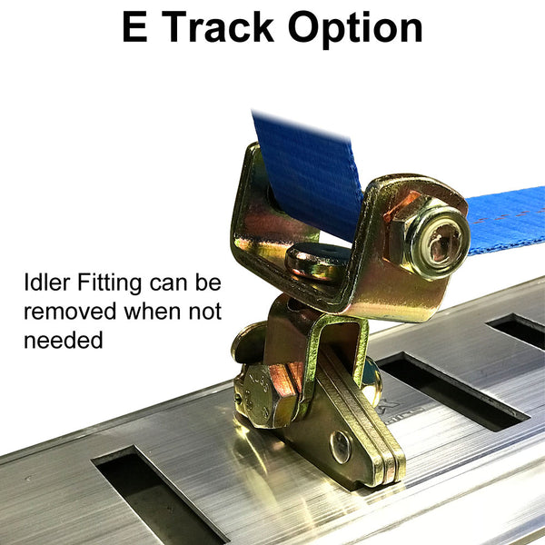 E Track Option - Idler Fitting