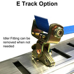 E Track Option Idler Fitting