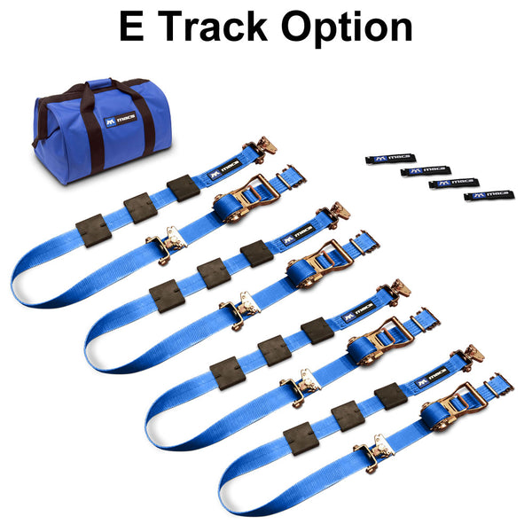 Tire Block Strap Pack - E/A Track Option