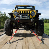 Jeep with Axle Strap Front View