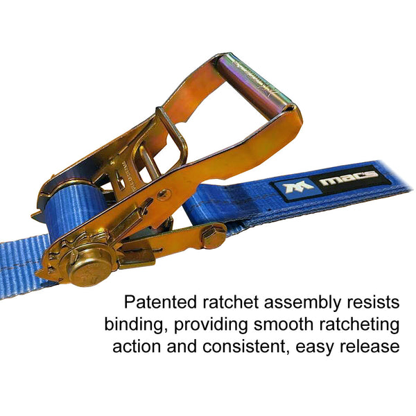 Patented easy-release ratchet