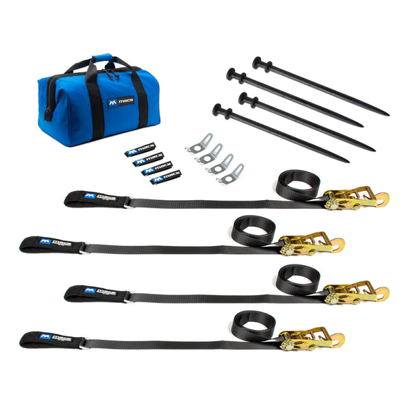 Canopy/Awning Tie-Down Kit 4 Pack