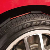 Tire block strap on Ferrari