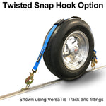 Twisted Snap Hook Option - Fixed End