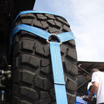 D ring on off-road tire
