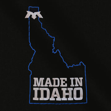 "Mac's T-Shirt - Woman's V Neck - ""Made In Idaho"" - 25th Anniversary Limited Edition"