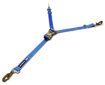 "Y-Strap Tire Tie Down, 35"" to 40"" Tire"