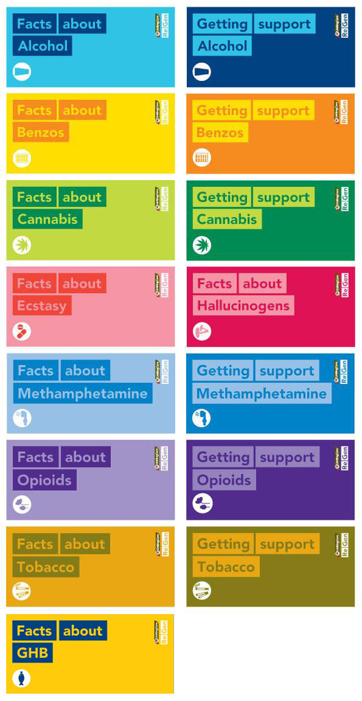 ReGen's 'Facts about' & 'Getting support' brochure series