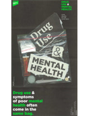 Drug Use & Mental Health: two issues in the same bag (10 brochure packs)