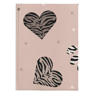 Trendy animal print Journal
