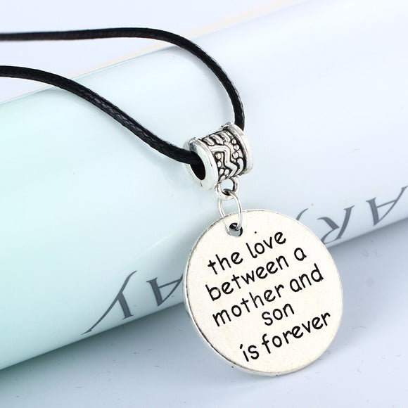 Love Between Mother & Son Silver Charm