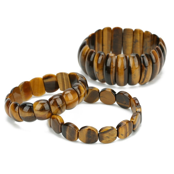 Trendy Tiger Eye Unisex Bracelet