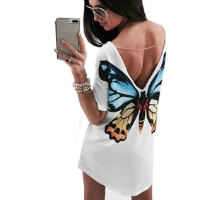 Butterfly Casual T Shirt