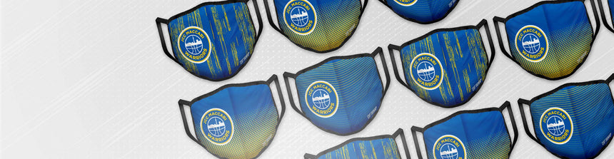 JCC Maccabi Warriors x GSW Face Coverings