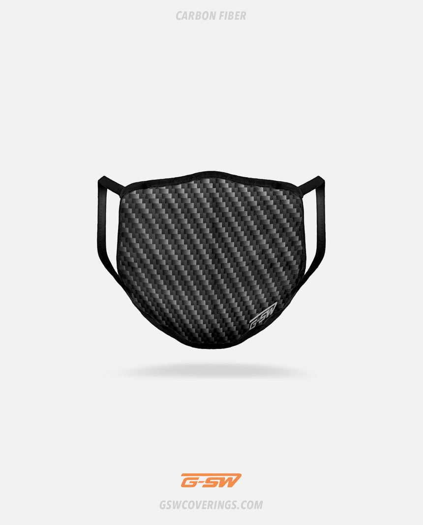 Carbon Fiber Mask | Carbon Mask 3-Pack - GSW Ready-Made Face Covering Bundle