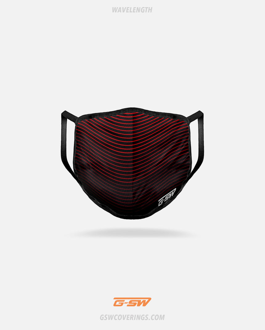 Wavelength Mask - GSW Ready-Made Face Covering