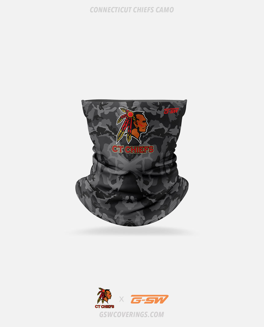 CT Chiefs Camo Neck Gaiter - CT Chiefs x GSW Ready-Made Face Covering
