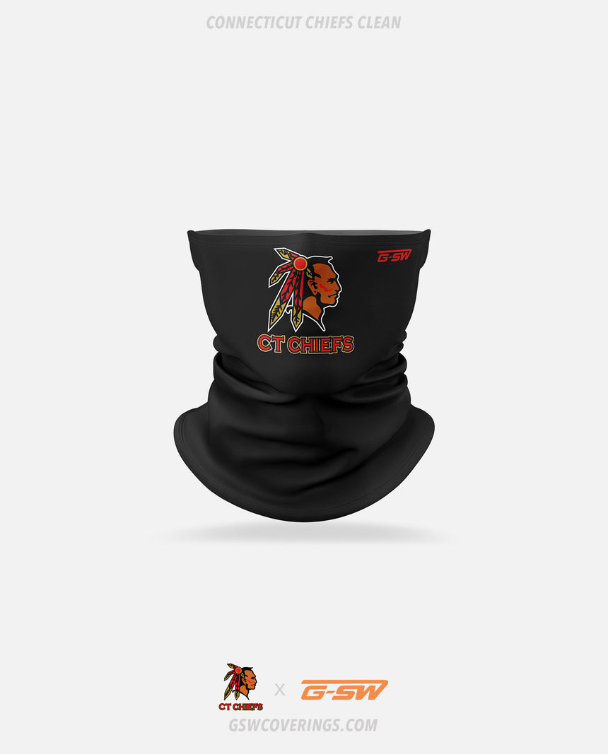 CT Chiefs Clean Neck Gaiter - CT Chiefs x GSW Ready-Made Face Covering