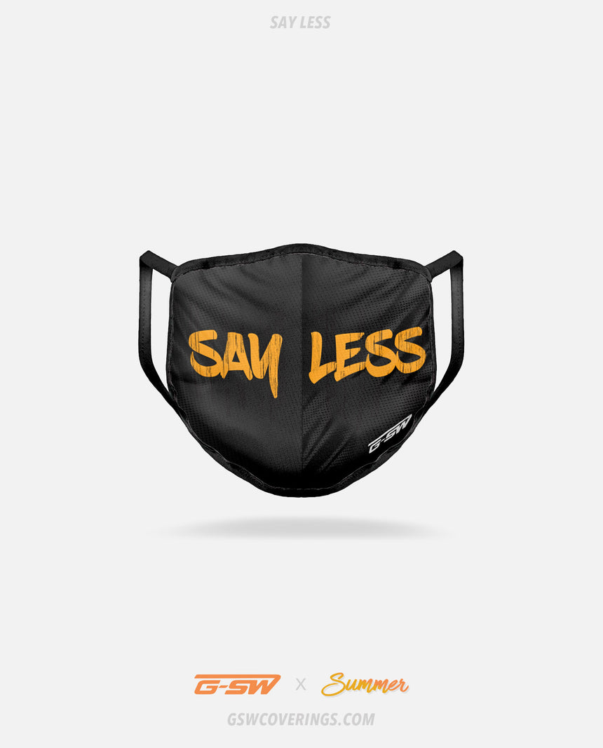 Say Less Mask - Summer Collection