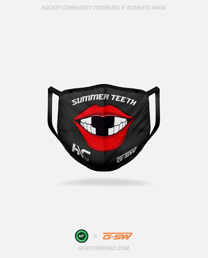 Hockey Community Summer Teeth Mask