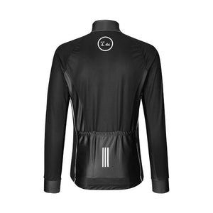 ES16 Cycling Jacket Elite Mission Flow. Vind og regnjakke. Black