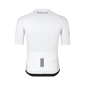 "ES16 Cykeltrøje Elite Stripes -  ""Bite The Dust"" White"