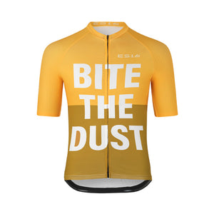 "ES16 Cykeltrøje Elite Stripes - ""Bite The Dust"" Yellow mix"