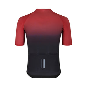 ES16 Cykeltrøje Elite Stripes - Faded red