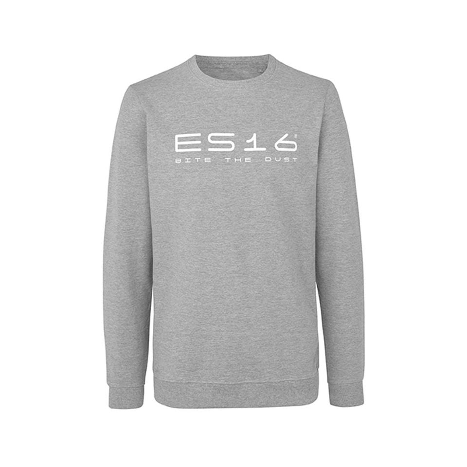 ES16 Fashion Sweetshirt Sport Crew Neck. Oxford Grey