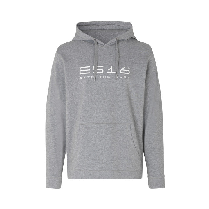 ES16 Fashion Hoodie. Oxford Grey. 100% økologisk bomuld