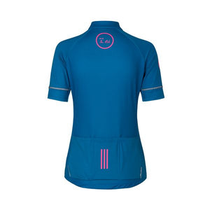 "ES16 Cycling Jersey Women Elite ""Bite The Dust"" blue"