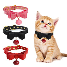 Load image into Gallery viewer, Bow Tie Cat Collar