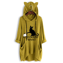 Load image into Gallery viewer, Funny Cat Ears Hoodie