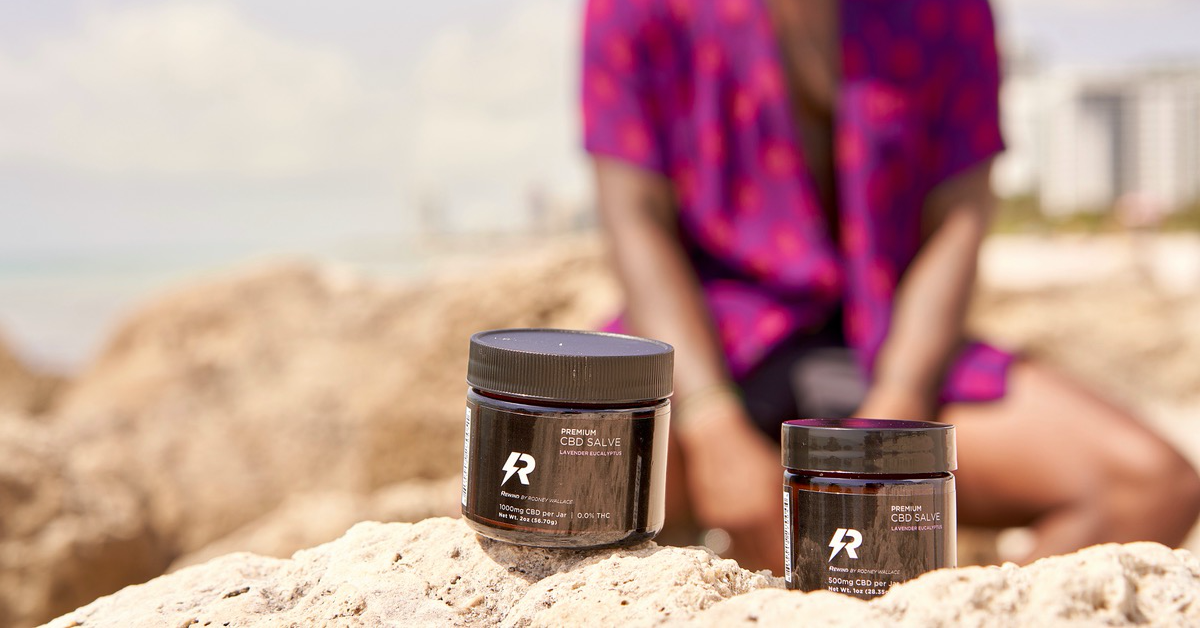 Rewind Organic CBD Salve for Aches and Pains