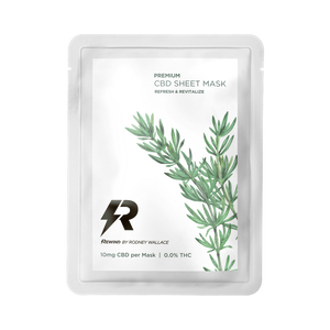 Load image into Gallery viewer, Rosemary CBD Sheet Mask.