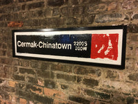 Chinatown-Cermak Red Line CTA Sign