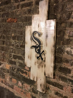 Chicago White Sox, City of Chicago, Chicago Art, Chicago, Vintage Sign, Vintage Chicago, Chicago Sign, wooden signs, Chitown, Second City,