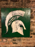 Michigan State Wooden Sign