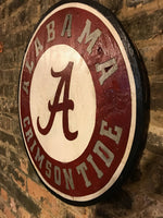 Alabama Wooden Sign