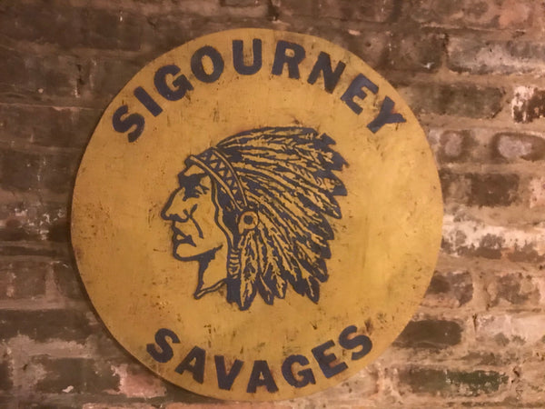 Sigourney Savages Sign