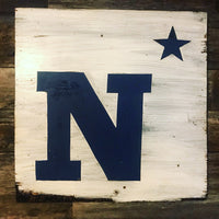 Midshipmen Wooden Sign