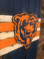 Chicago Bears, Chicago Football, Soldier Field, Da Bears, Sports Art, Street Art, The Bears, Beardown, Football