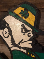 Fighting Irish Wooden Sign