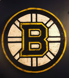 Wooden Bruins Sign
